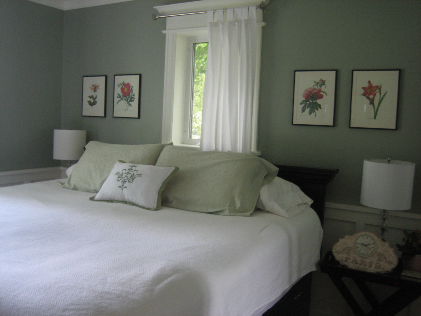 Choosing paint colors for Bedroom paint ideas green