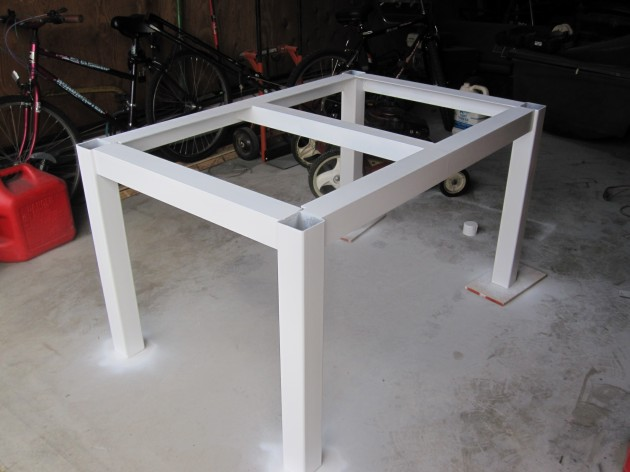 Welding table plans or ideas pdf download garden - Plan fabrication table ...