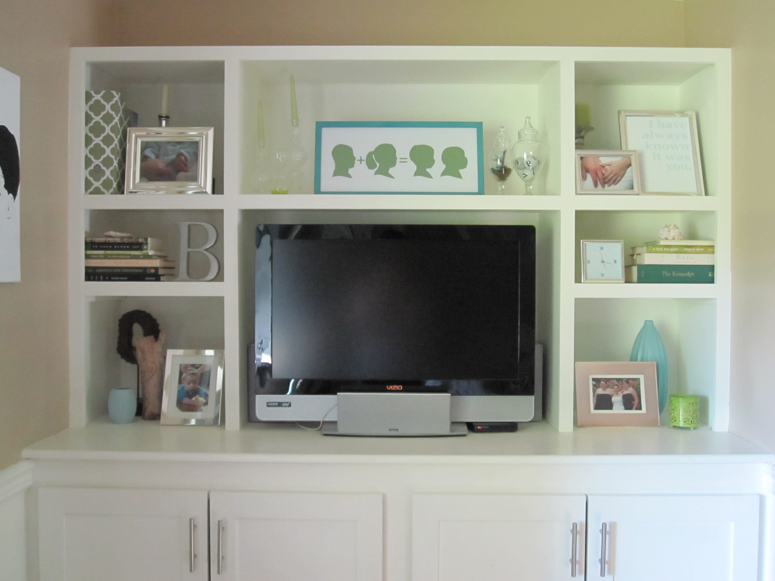 how to make entertainment center