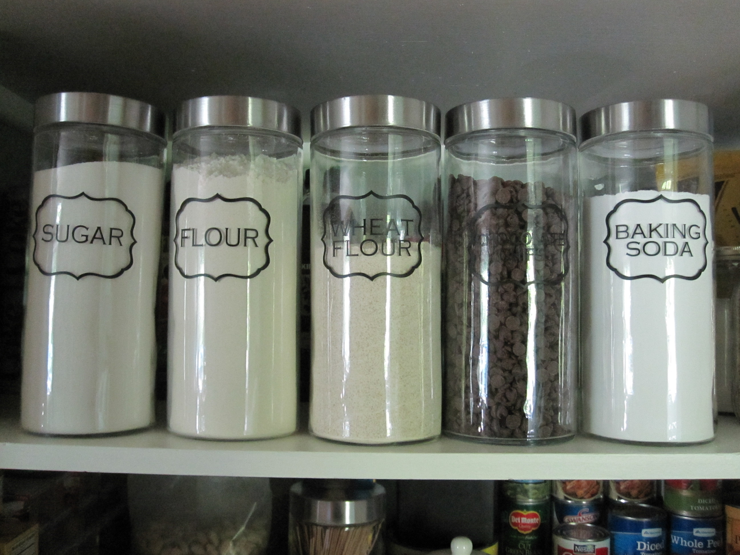 kitchen containers for sale  pantry jar labels all