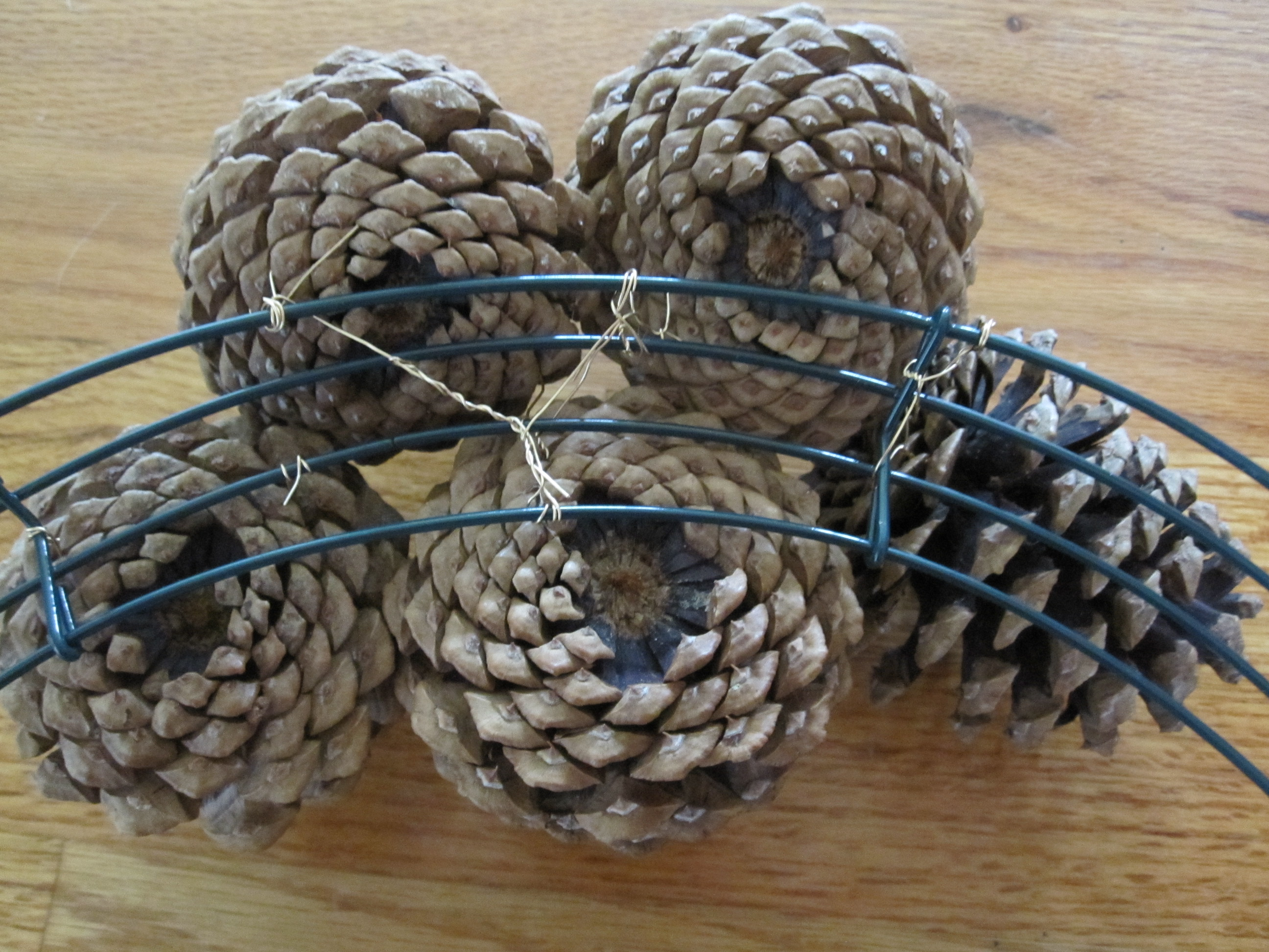 How To Pinecone Wreath
