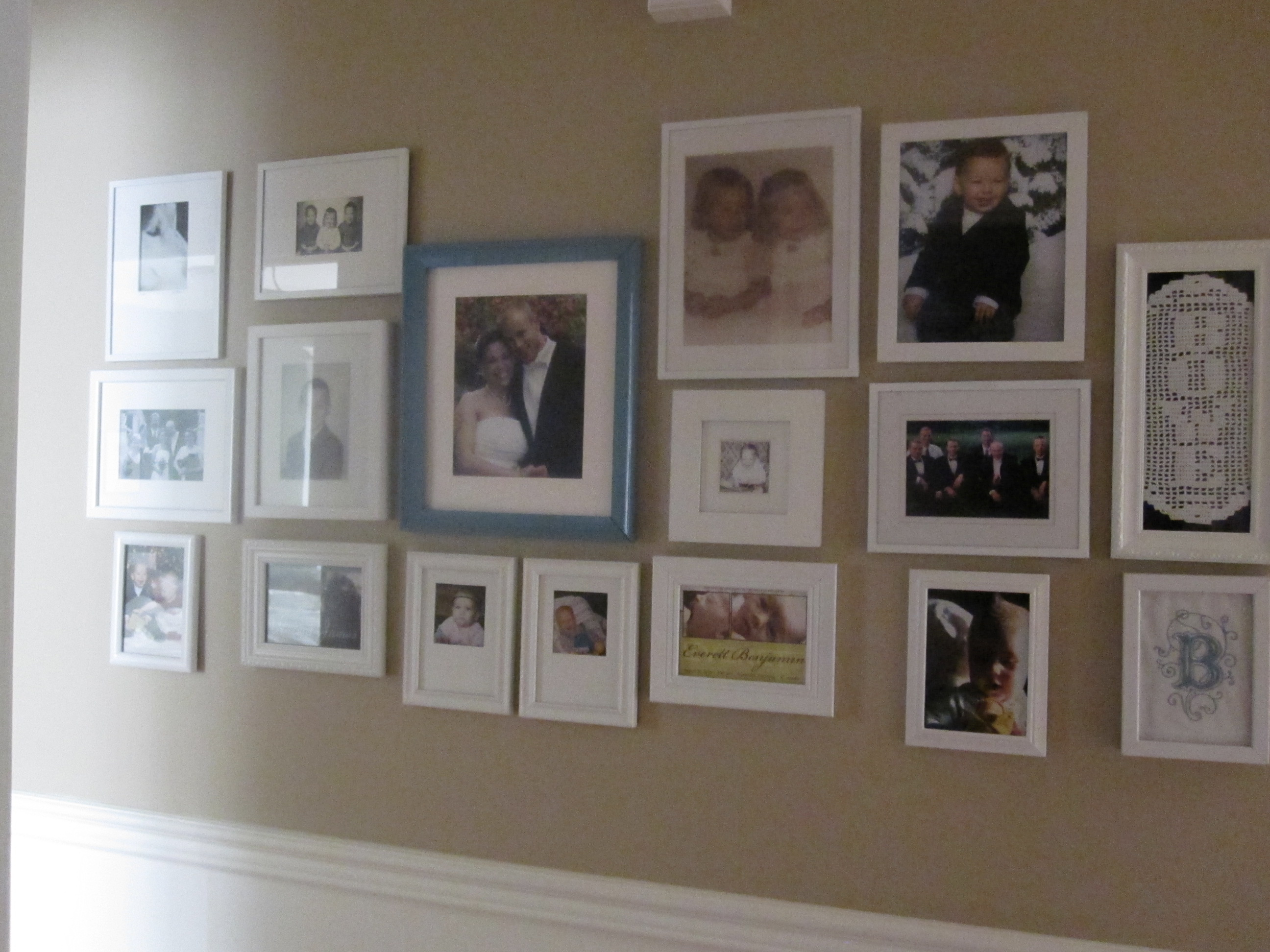 Family picture wall arrangements viewing gallery - Picture arrangements on walls ...