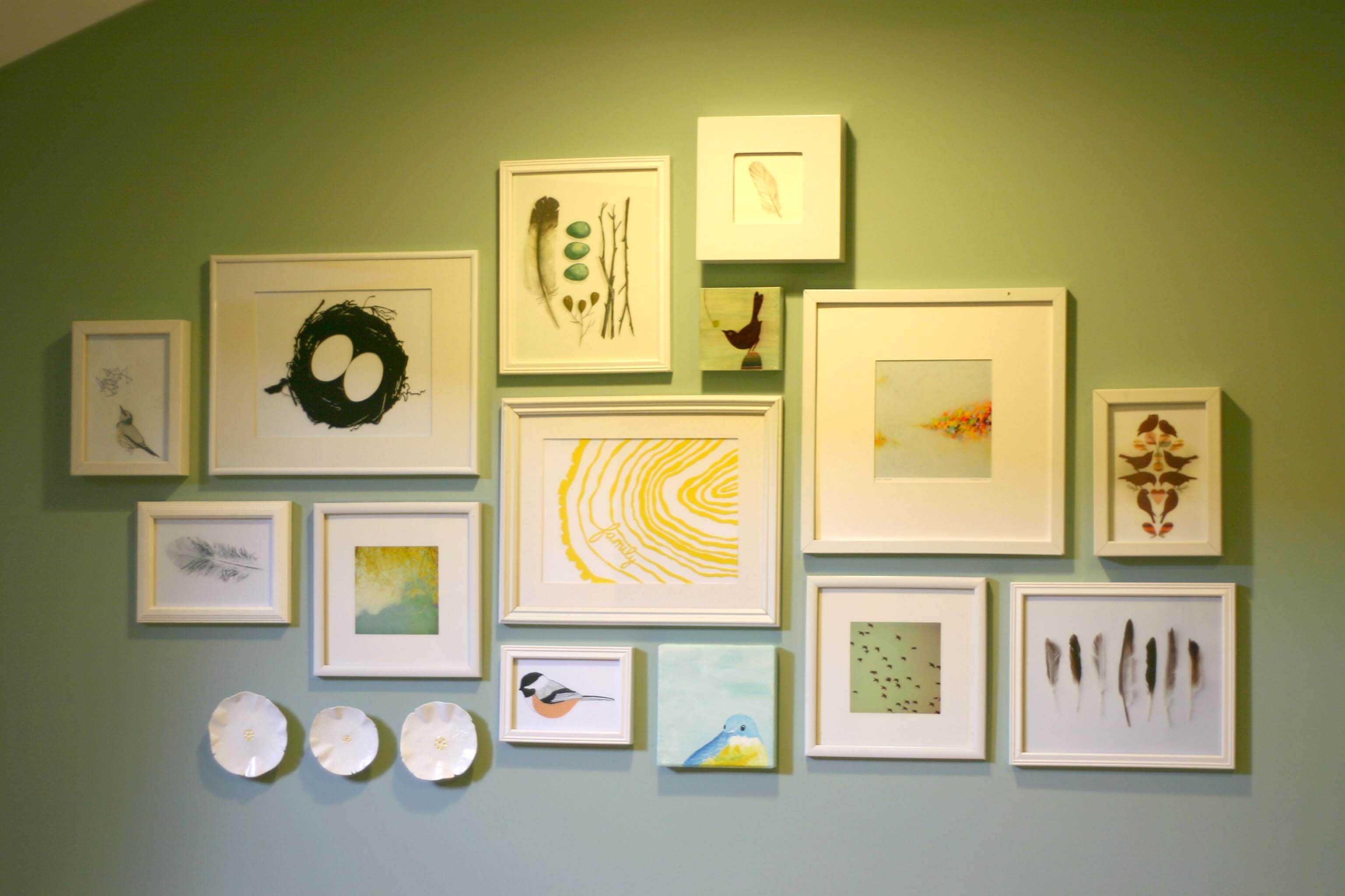 Creative Gallery Wall Ideas - Gallery Wall Decor - Intridge.org