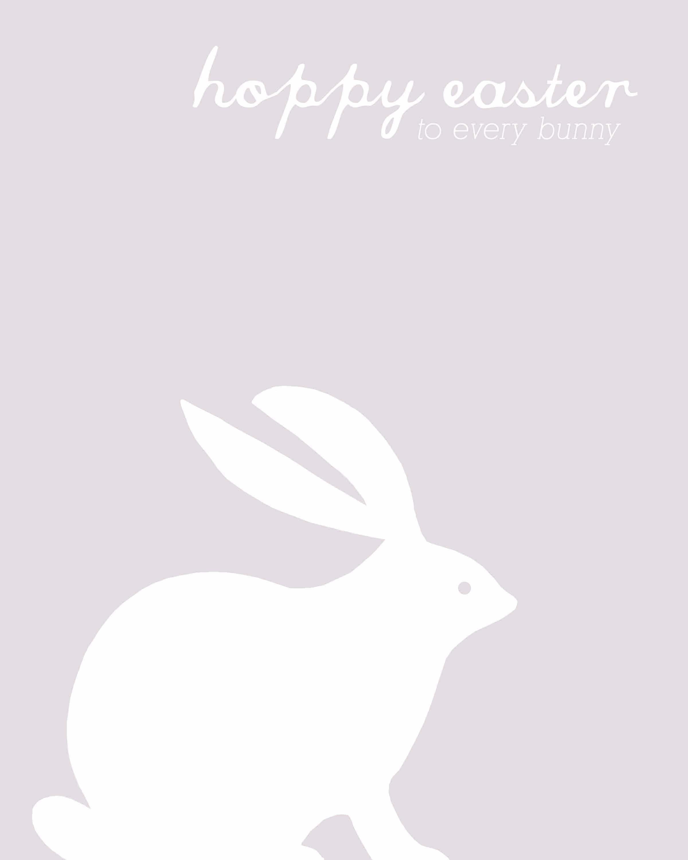 hoppy easter prints