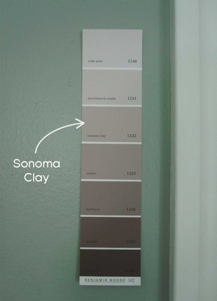 like that the colors have a similar value and i like that sonoma