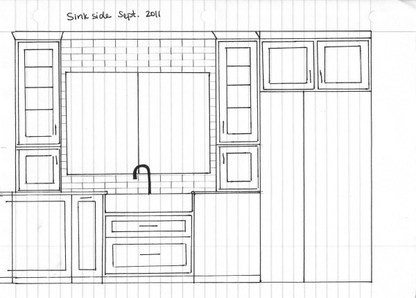 New Kitchen Drawings And Plans Our Humble Abode