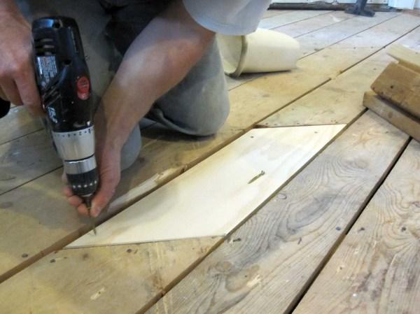 October 2011 for Wood floor hole filler