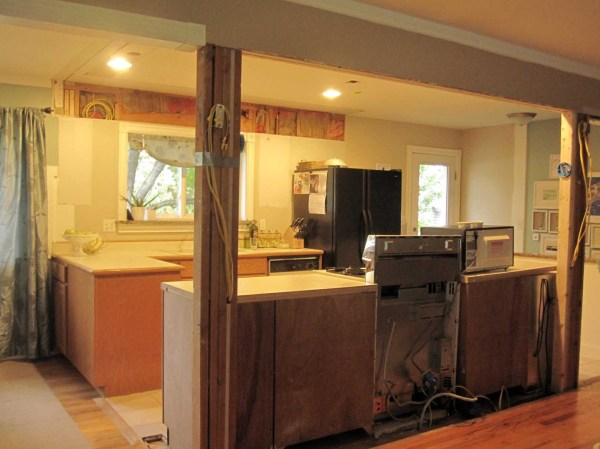 And the walls come tumblin down - Photos of open kitchen living room designs ...
