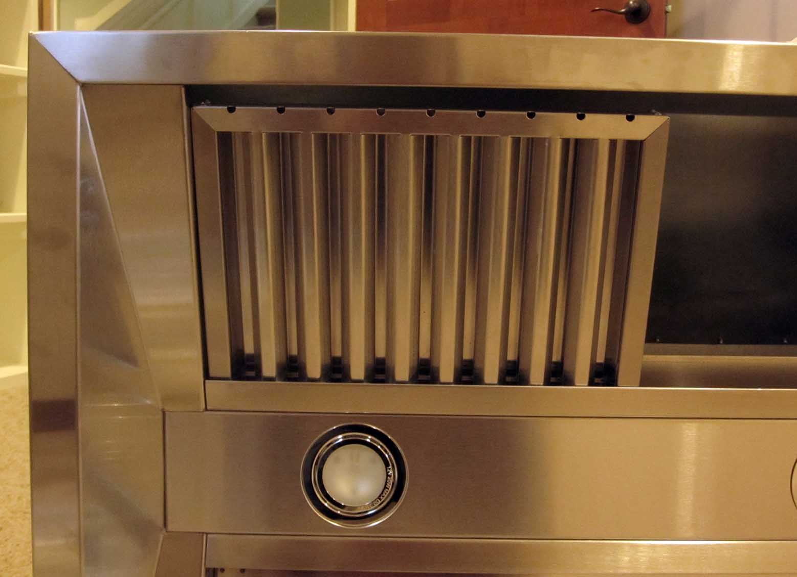 build wood hood vent