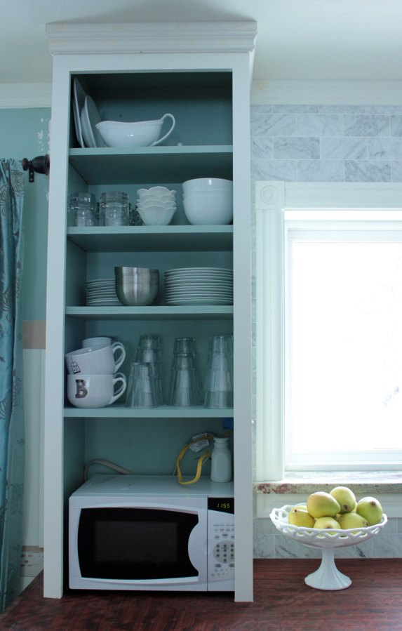 Arranging Dishes In Kitchen Cabinets After Left
