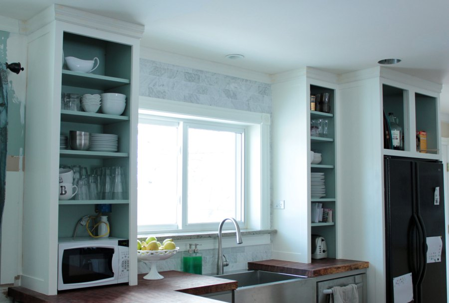 Arranging Dishes In Kitchen Cabinets After Overall