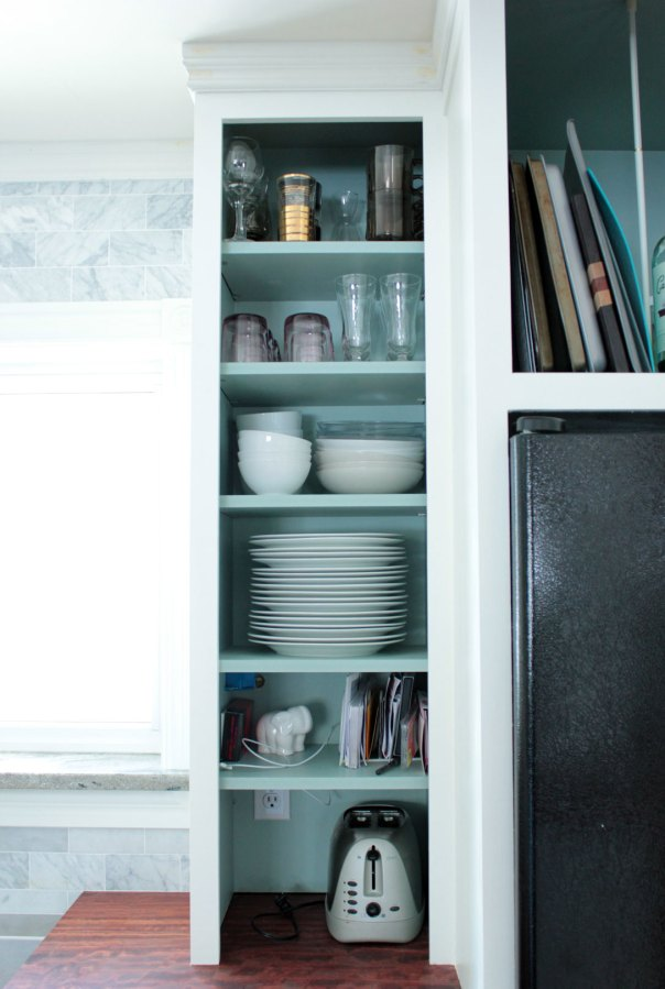 Arranging Dishes In Kitchen Cabinets After Right