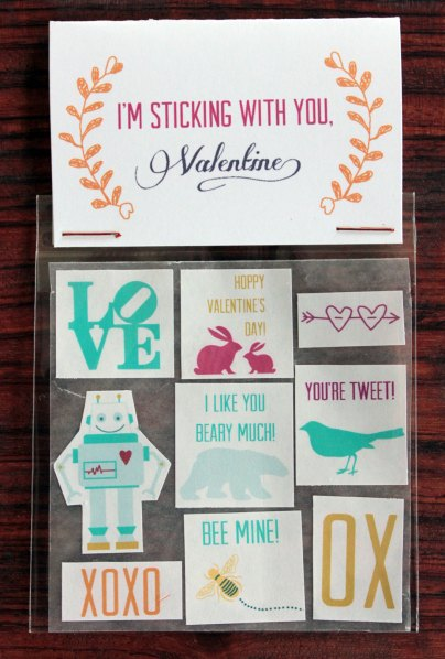 Valentine Top Tags and Stickers