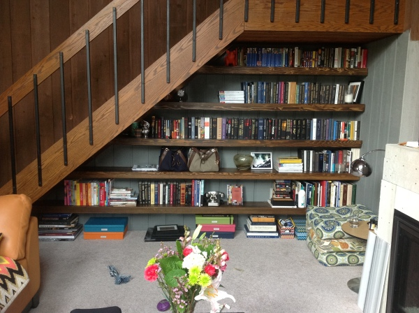Ashley's Stairs and Bookcases Finished Front