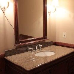 Main Bathroom Vanity Before