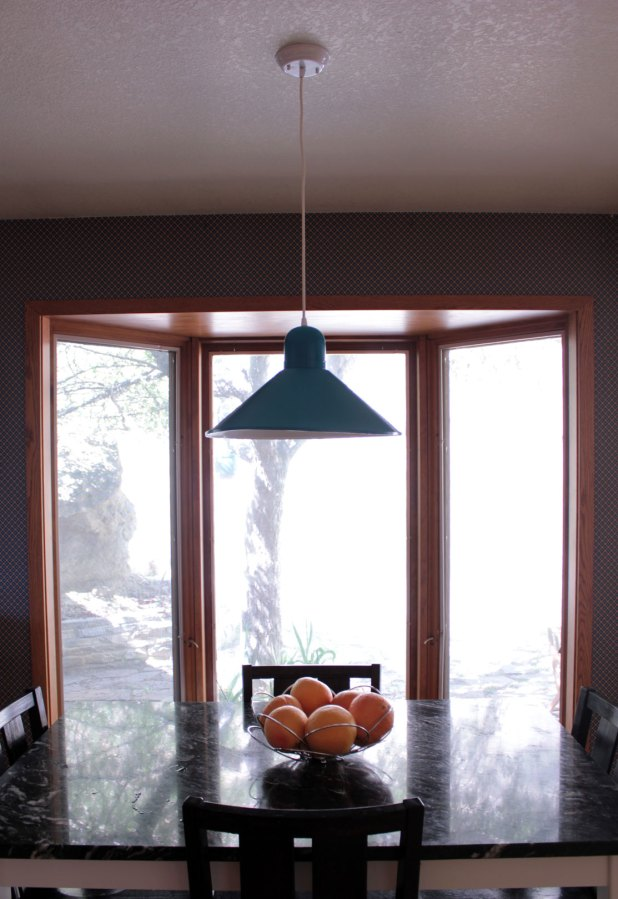 Blue Breakfast Nook Light Our Humble Abode