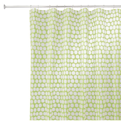 Honeycomb Shower Curtain from Target | Our Humble Abode