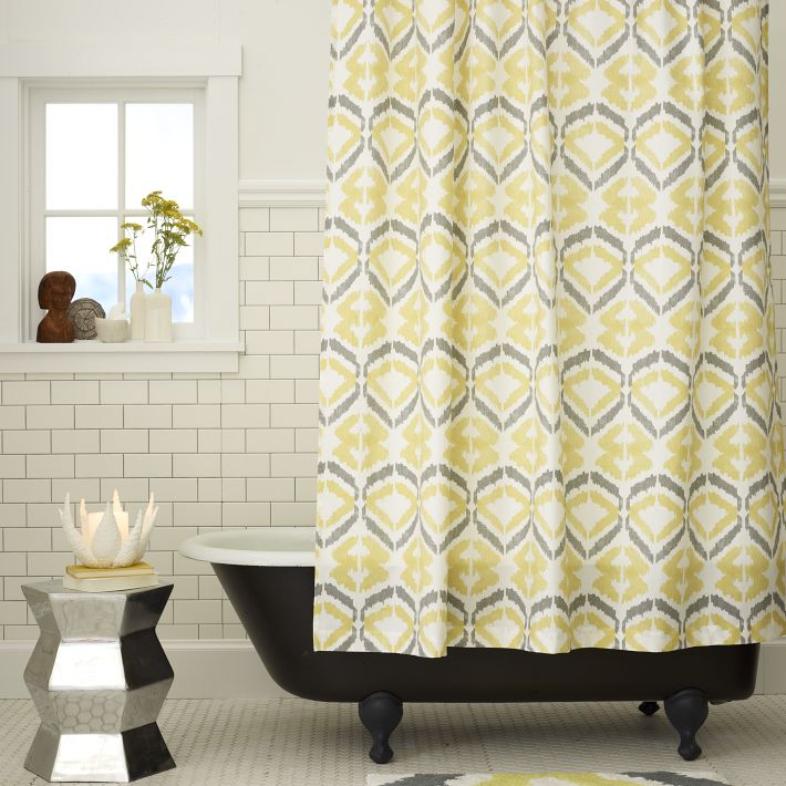 Tali Printed Shower Curtain From West Elm