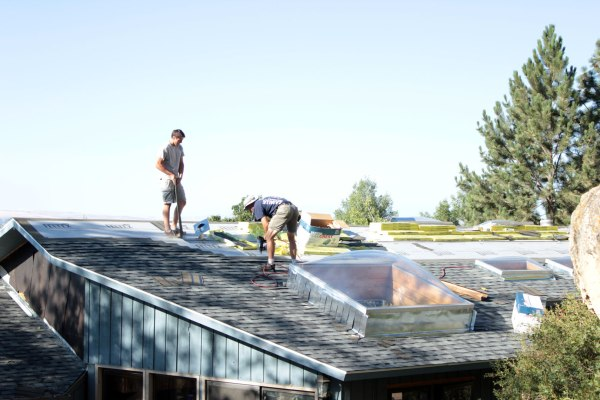 A New Roof Over Our Heads