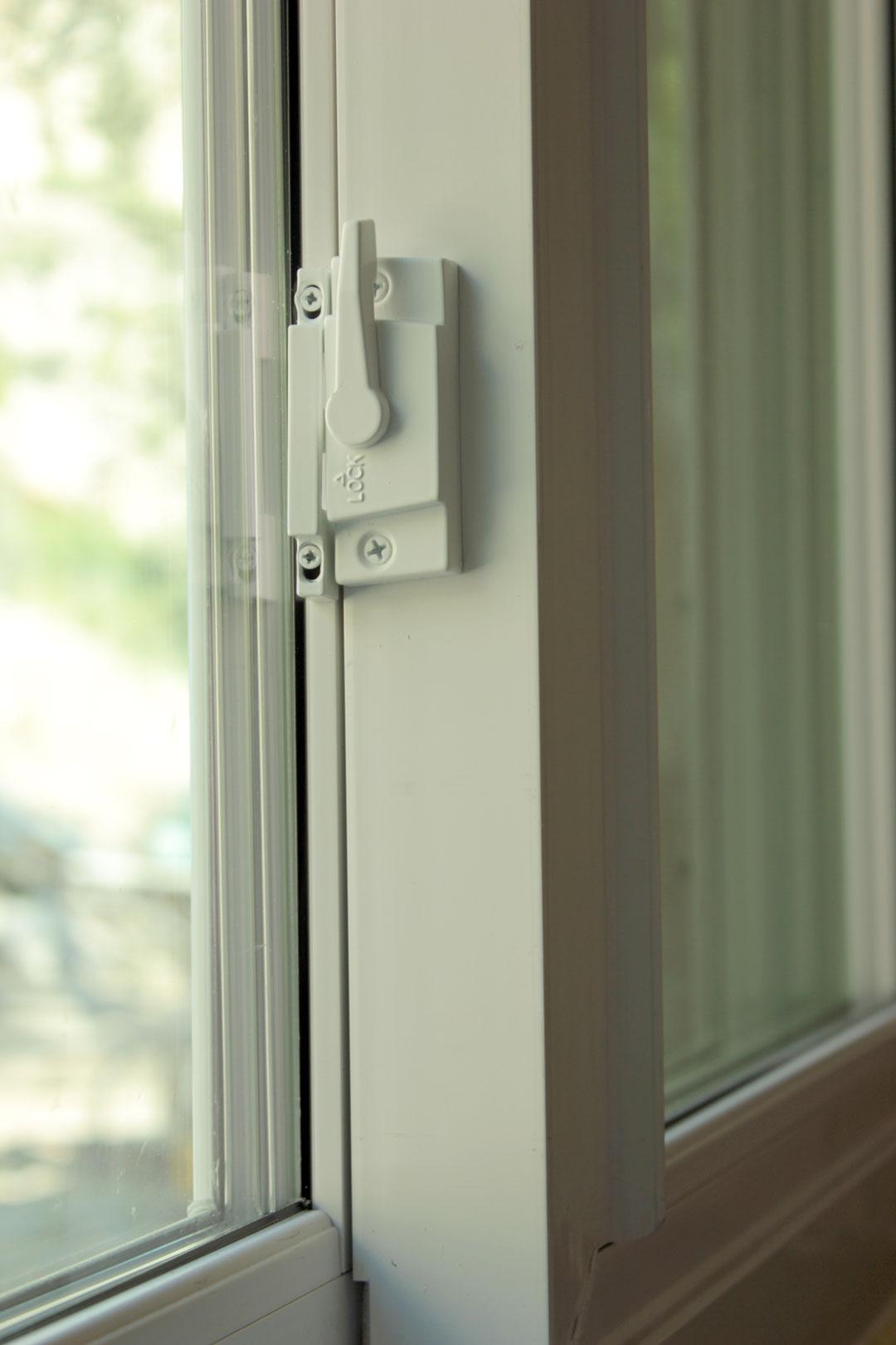 Sliding Window Lock Detail #74814A