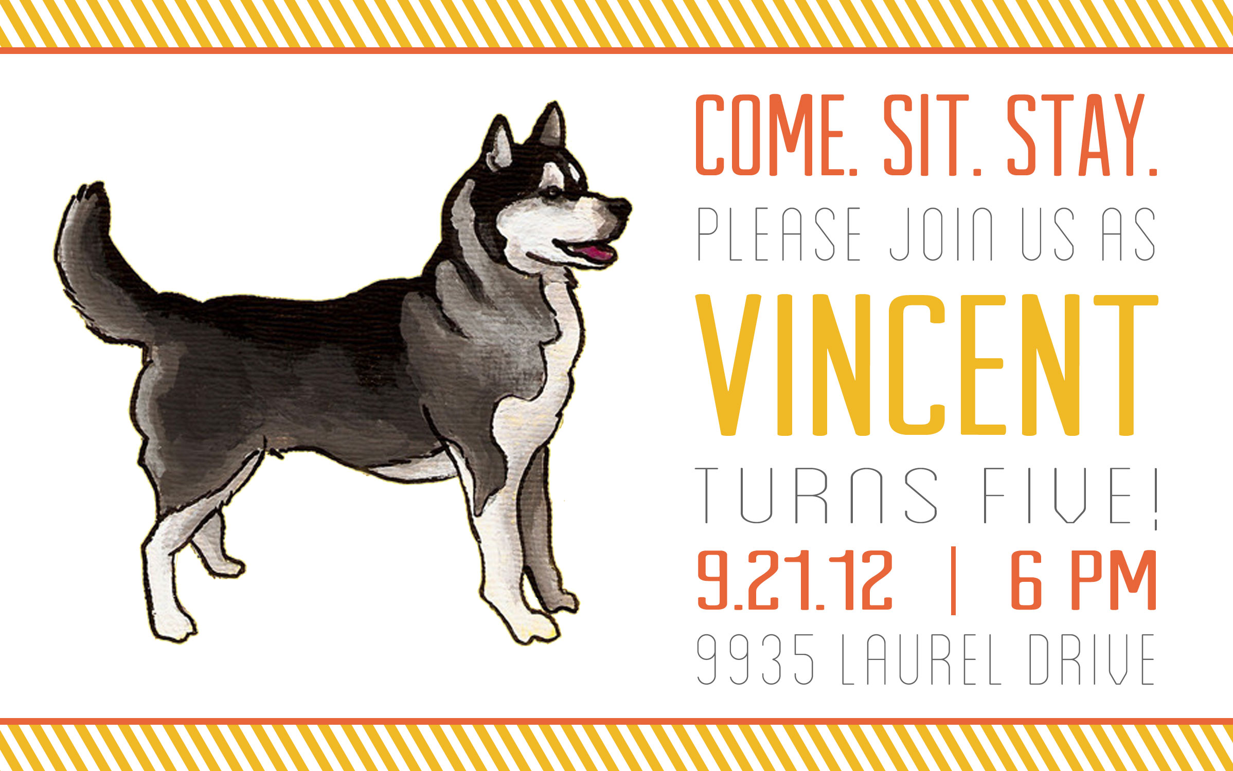 Dog Days Of Invitations