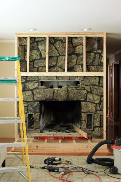 Fireplace Build Out