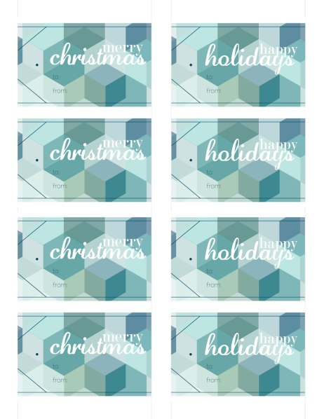 Happy-Holidays-Merry-Christmas-Hexagon