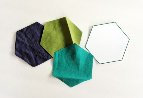 Hexagon Pillow Step 1