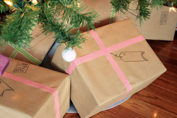 Mailable Christmas Gift Wrapping