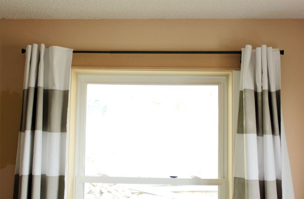 New Window Trim With Curtains