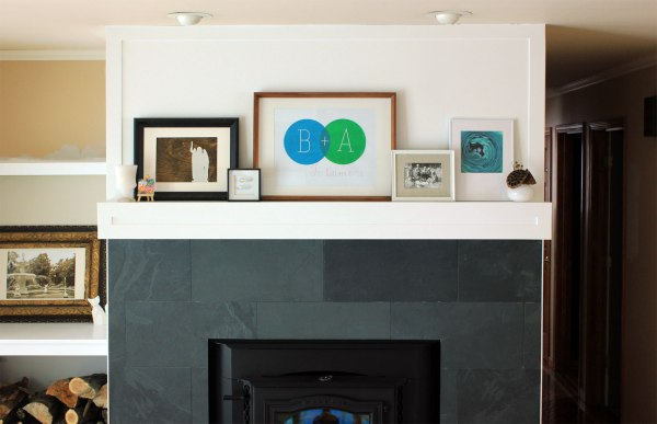 Art On Mantel Overall