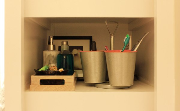 Bathroom Organization Shelf