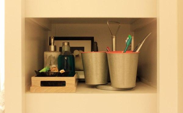 Bathroom Organization Shelf