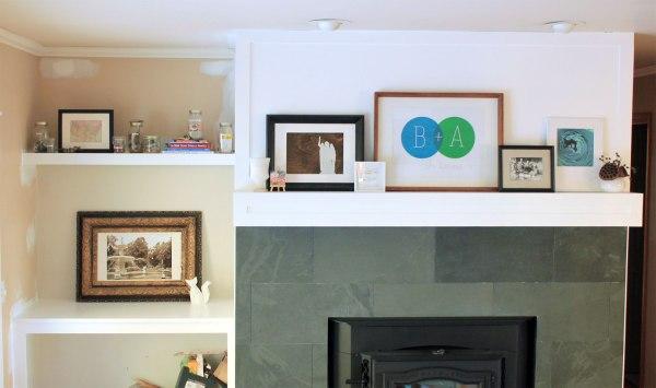 Family-Room-Bookshelf-Arrangement-Jars-with-Mantel-Simple