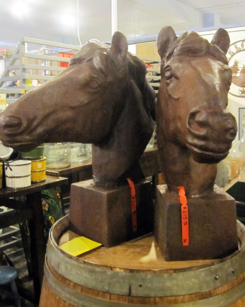 Marketplace Favorites Giant Horse Heads