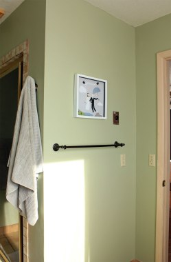 Master Bathroom Macinack Island Green Entry