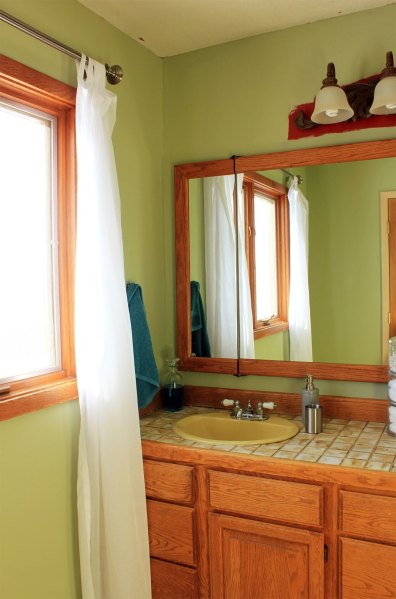 Master Bathroom Macinack Island Green Window