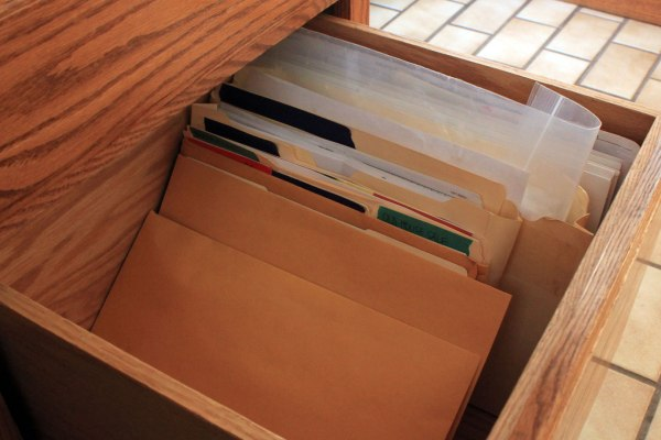 Office Organization File Drawer