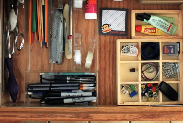 Office Organization Main Drawer
