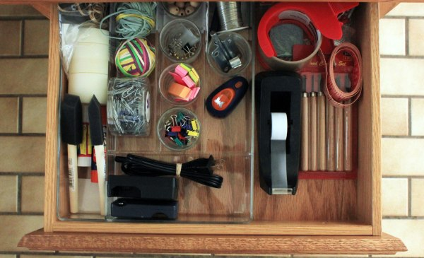 Office Organization Top Drawer