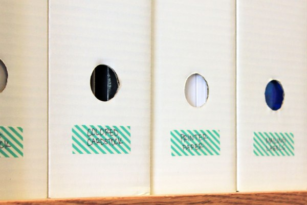 Office Organization Washi Tape Labels