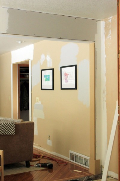 Framed-Door-Sheetrock