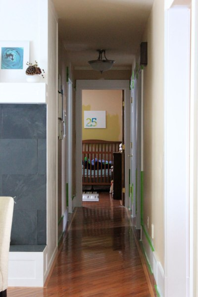 Hall-with-Painted-Trim