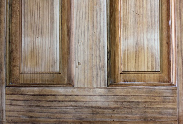 How to Paint a Door Pine Sanded