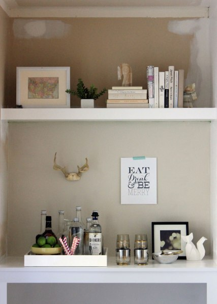 Valentine Gift for Men Bar with Shelf