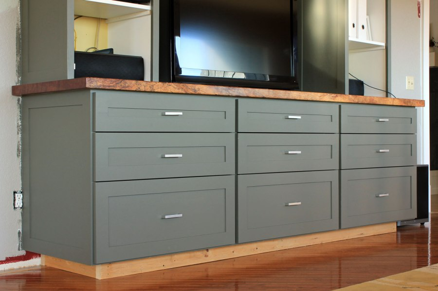 Entertainment-Center-Lower-Drawers