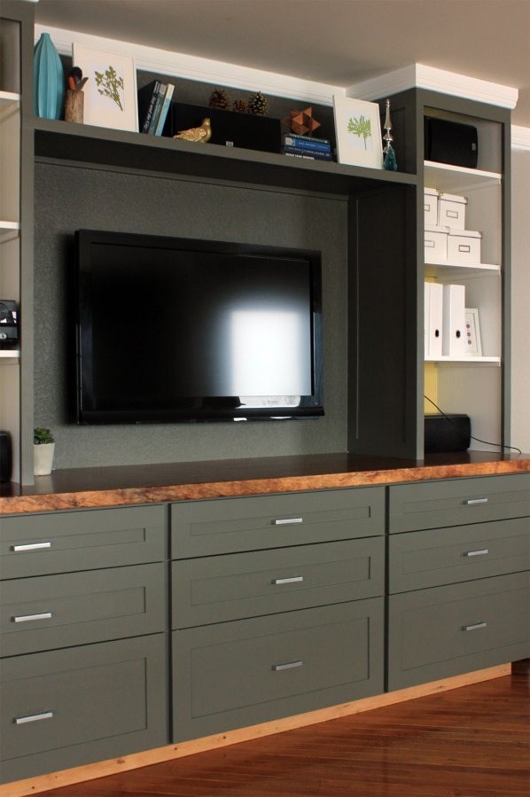 Build a Custom Entertainment Center