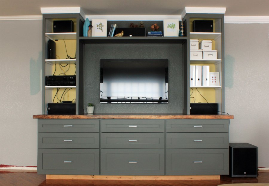 Entertainment-Center-with-Hanging-TV