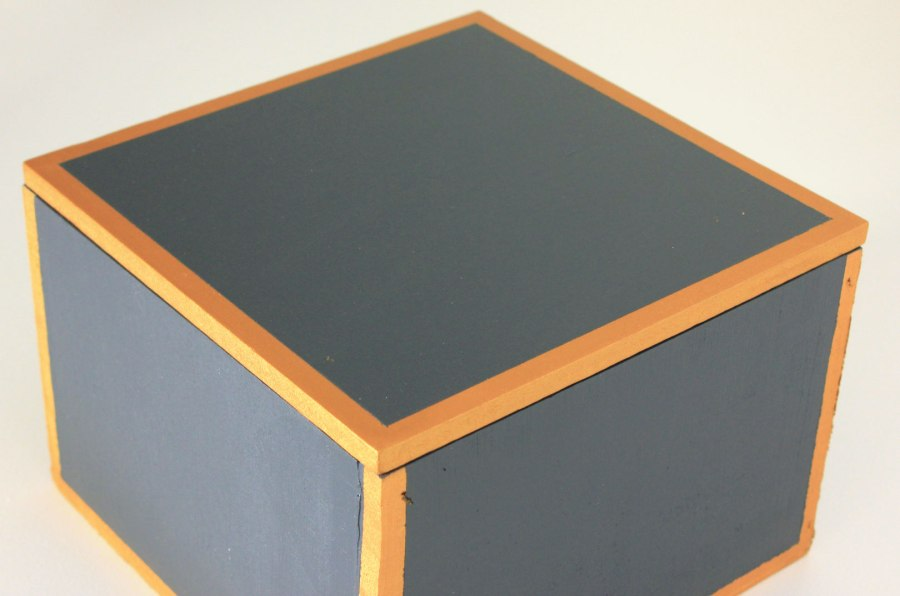 Gold-and-Navy-Painted-Box-Finished-Top