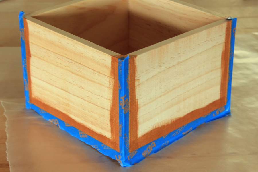 Gold-and-Navy-Painted-Boxes-Taped-Edges
